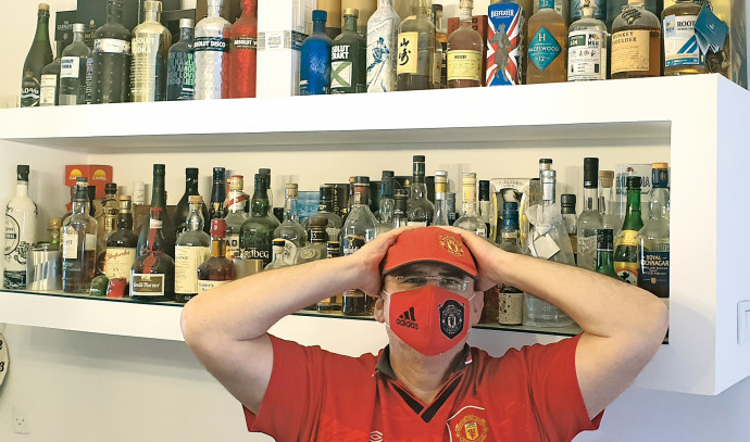 ניר קיפניס, כדורגל ואלכוהול