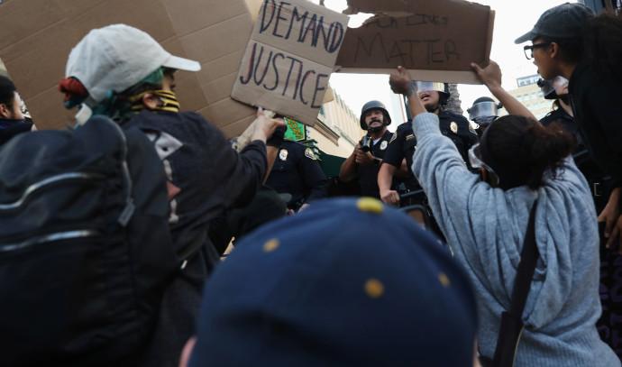 """המהומות בארה""""ב"""