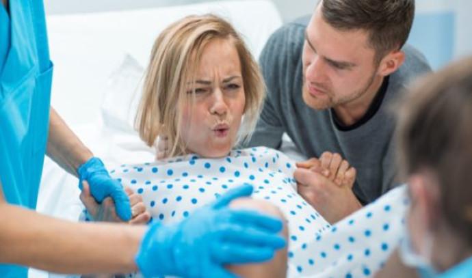 לידה בבית חולים