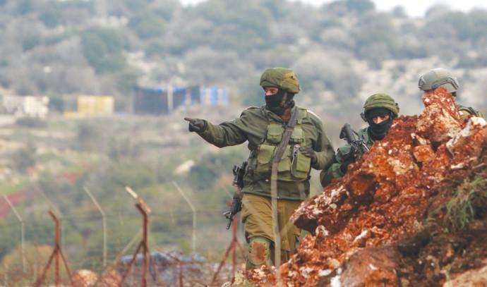 """כוחות צה""""ל בגבול הצפון"""