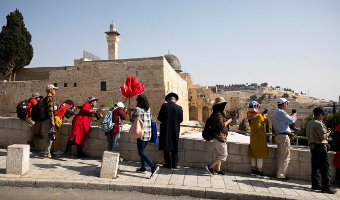 תיירים בירושלים