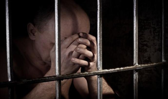 גבר במעצר