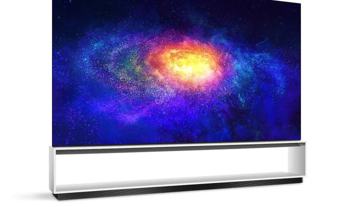 טלוויזיית LG ברזולוציית 8K