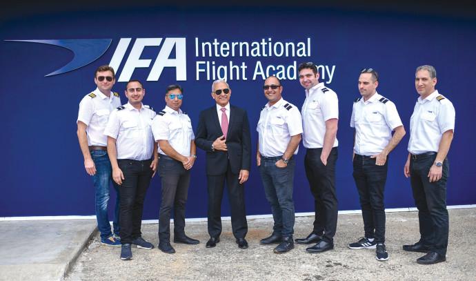 צוות IFA בית הספר לטיסה