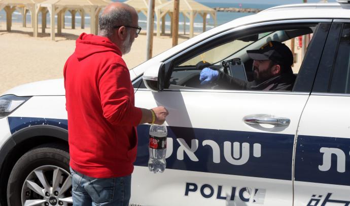 קורונה בישראל: אכיפת מסכות