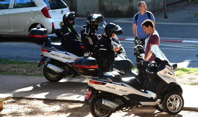 קורונה בישראל: דוחות על אי עטיית מסכות בתל אביב