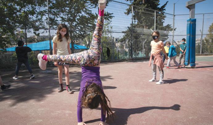 אילוסטרציה: תלמידים בבית הספר