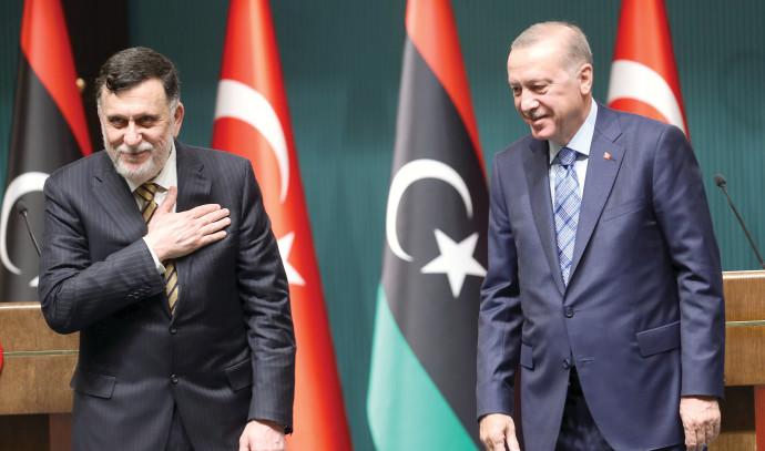 Recep Tayyip Erdoğan, Faiz al-Saraj
