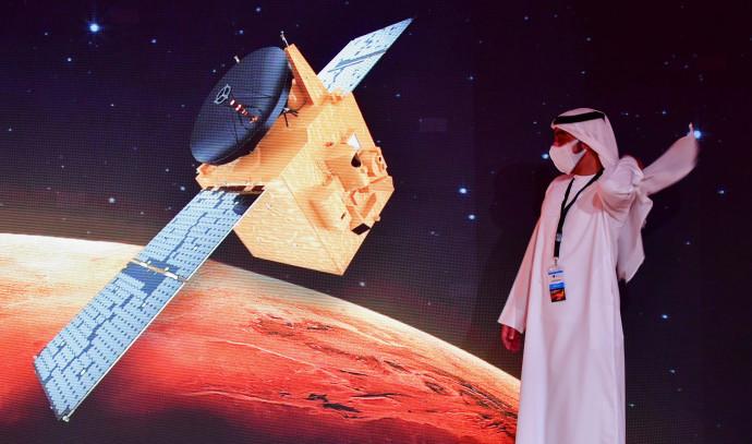 הגשושית של איחוד האמירויות בדרך למאדים