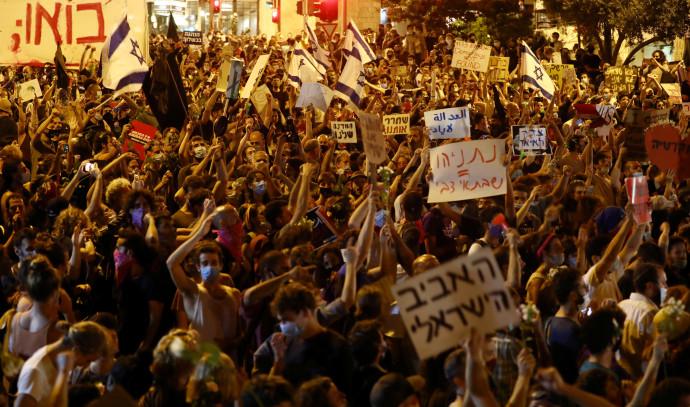 הפגנה בבלפור