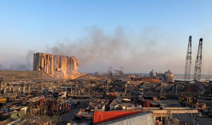 ההרס האדיר בלבנון
