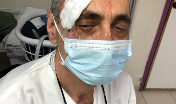 האח שהותקף בבית החולים לב השרון