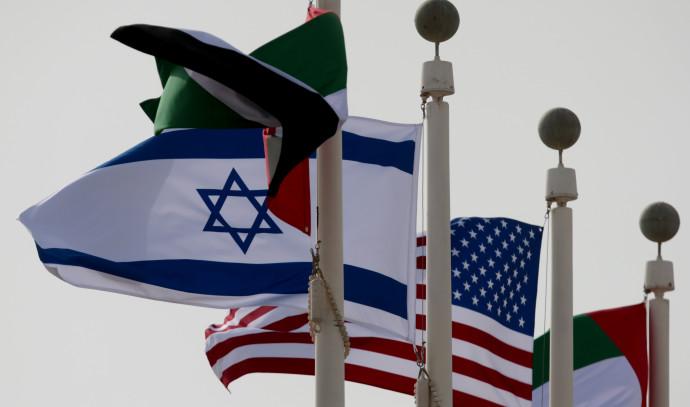 דגל ישראל בנמל התעופה באבו דאבי