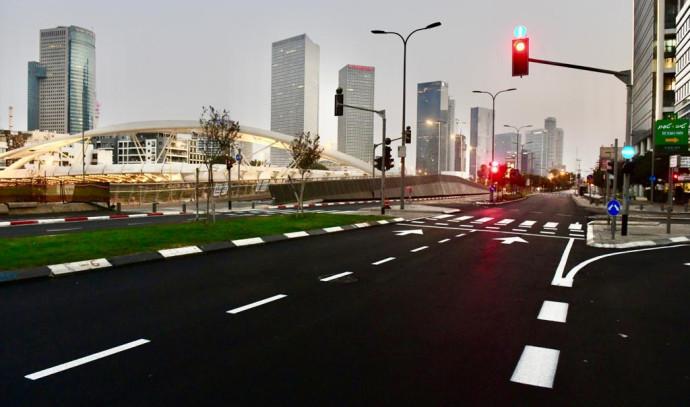 איילון כביש 20 כביש ריק סגר תל אביב