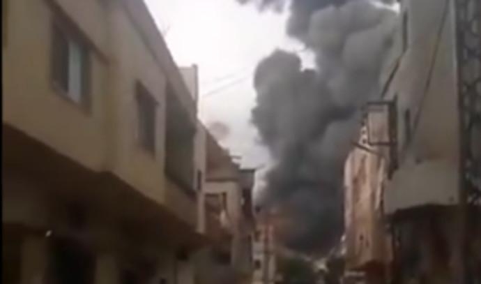 הפיצוץ בדרום לבנון