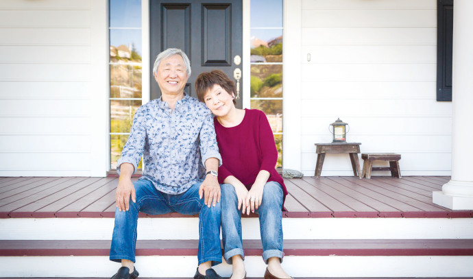 זוג סינים מאושרים
