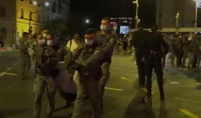 ההפגנה בבלפור