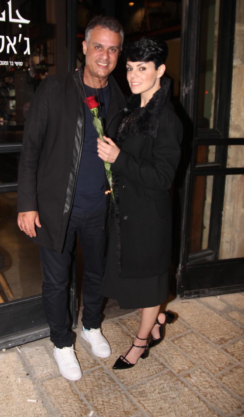 דנה רון ויריב נתי (צילום: רפי דלויה)