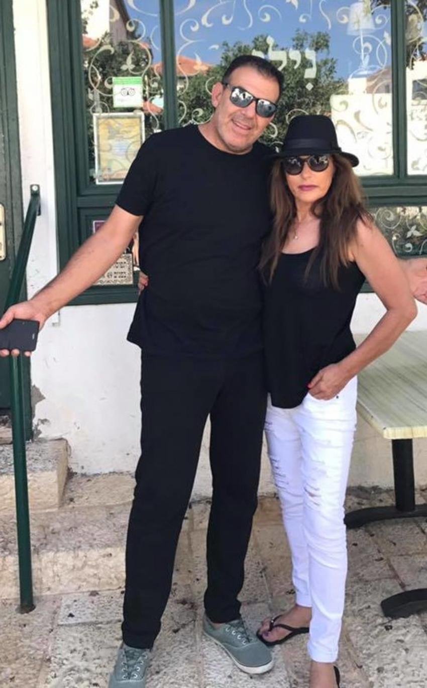 עמוס חלפון ואשתו צופית (צילום פרטי)