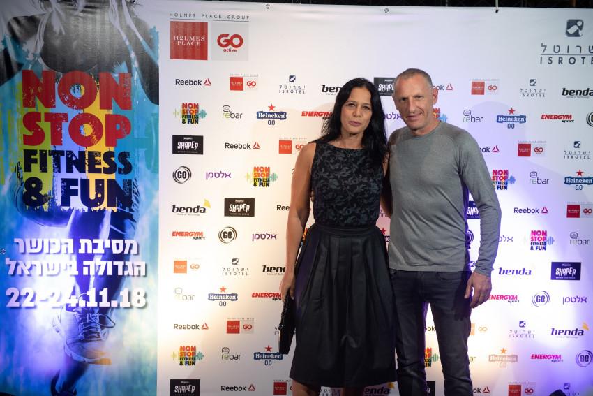 ליאור רביב וקרן שתוי (צילום: רביד פרי)