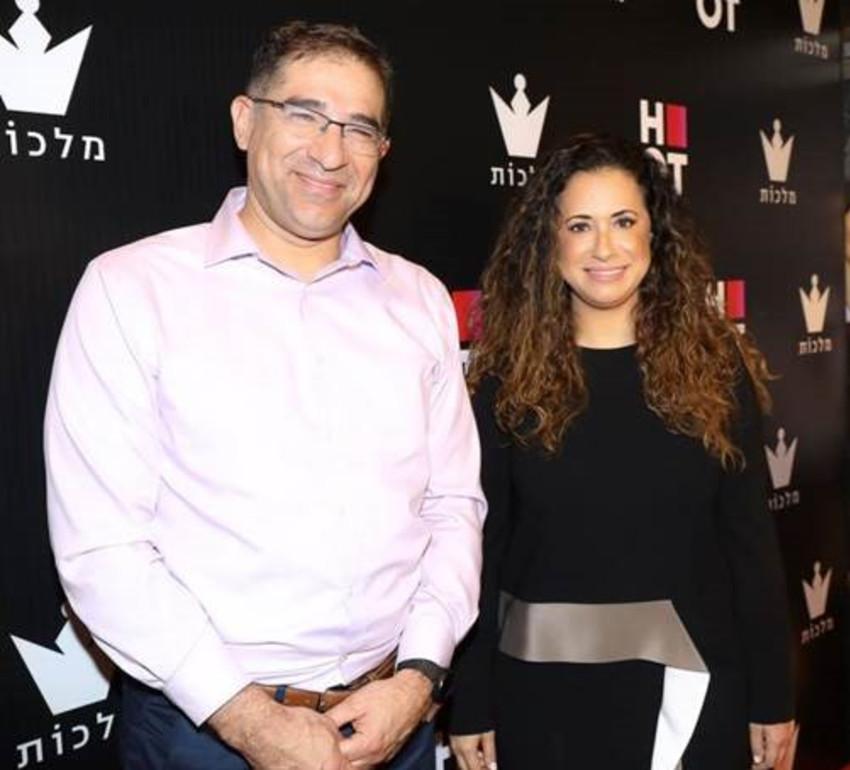 )טל גרנות גולדשטיין ונתי כהן (צילום: רפי דלויה