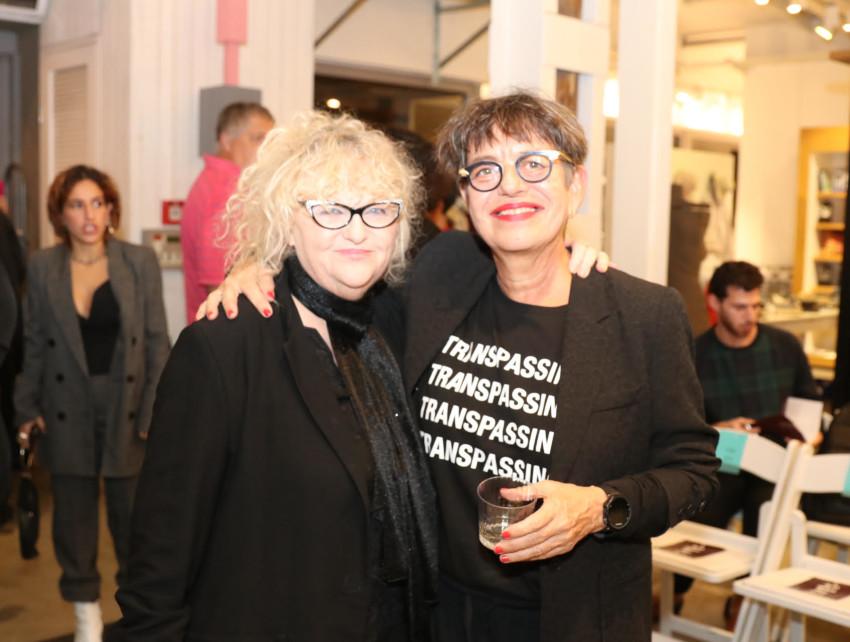 סיביל גולדפיינר וטמירה ירדני (צילום: אבי ולדמן)