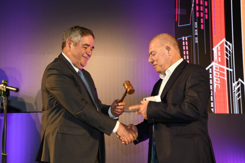 יגאל גוברין ודני מריאן (צילום: דני חכם)