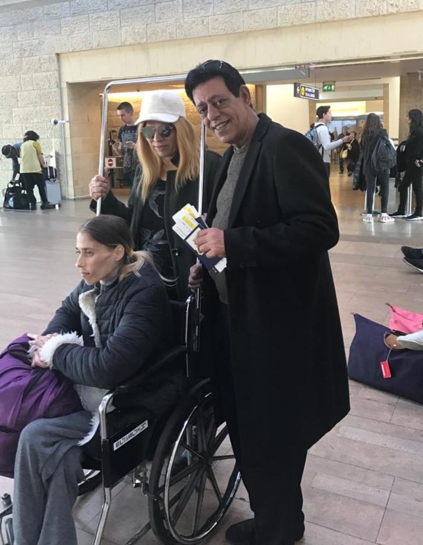 יהודית וקארין באומן ושימי תבורי (צילום פרטי)