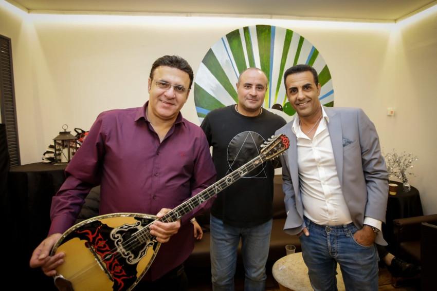 אורן חן, אהוד דנוך וסטאלוס (צילום: הרמונד אזיפר)