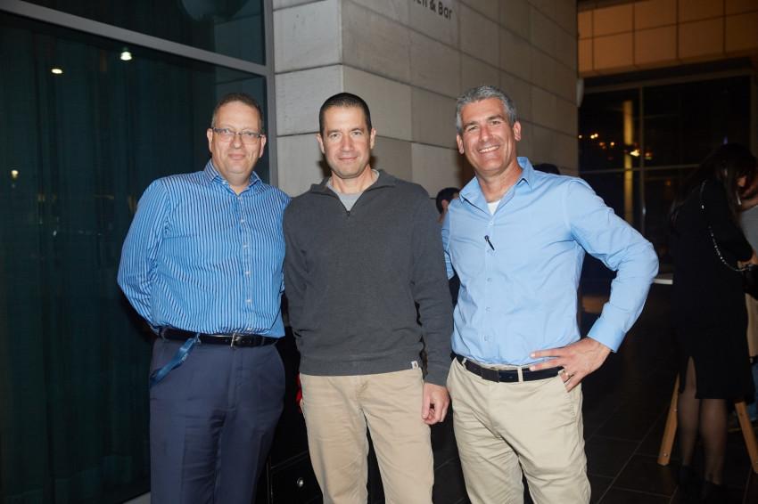 נדב ארנס, ערן גולדווסר וגלעד הלוי (צילום: שוקה כהן)