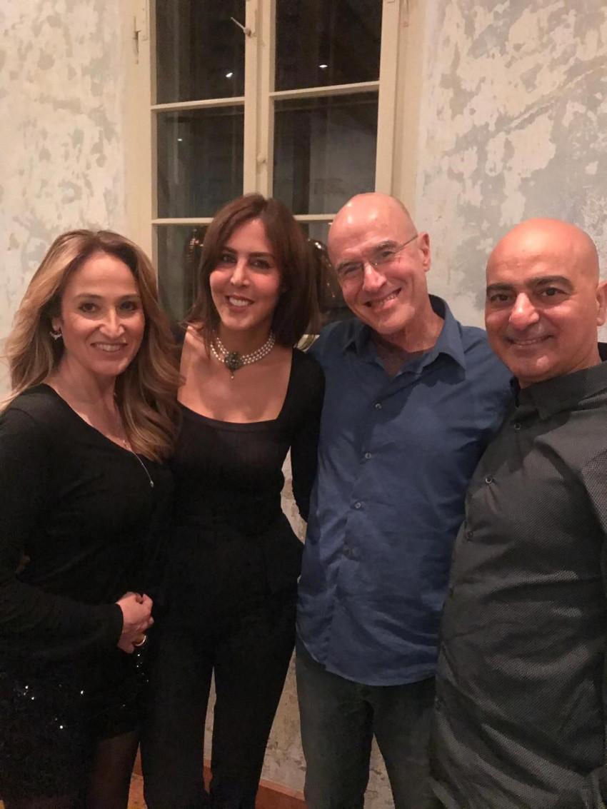 חנן מור, יורם יובל, עדי ישראלי -פורגס ושירה מור (צילום: רוני שר)