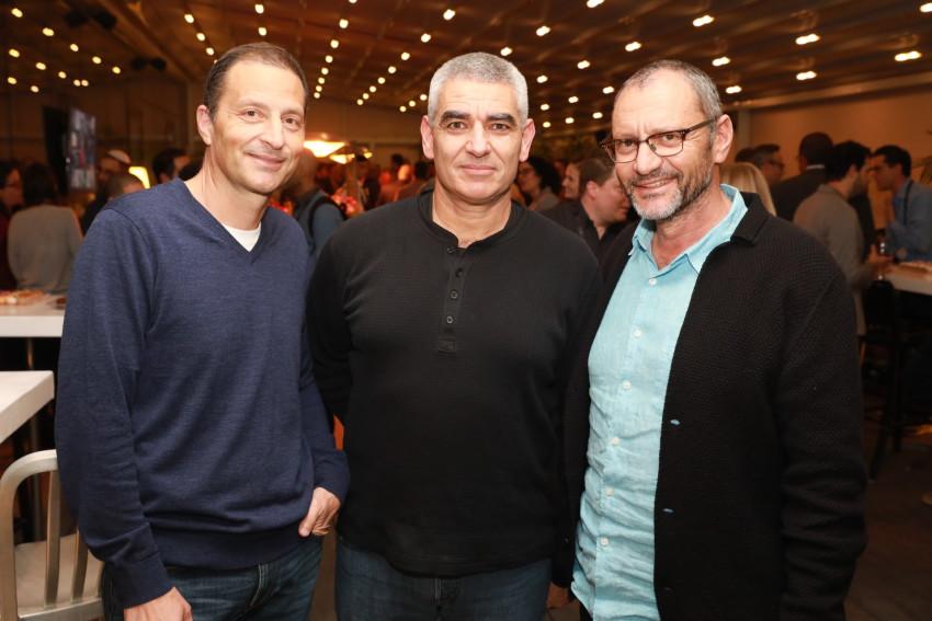 יונתן אלטמן, אילן לבנון ויובל כהן (צילום: לנס הפקות)