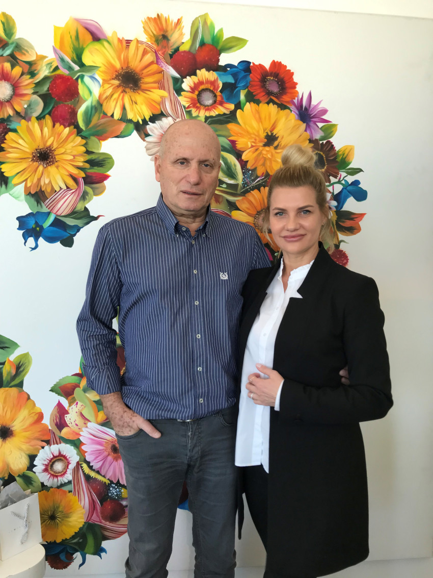 דנה ריבס ובני קירתי (צילום: אופיר כהן)