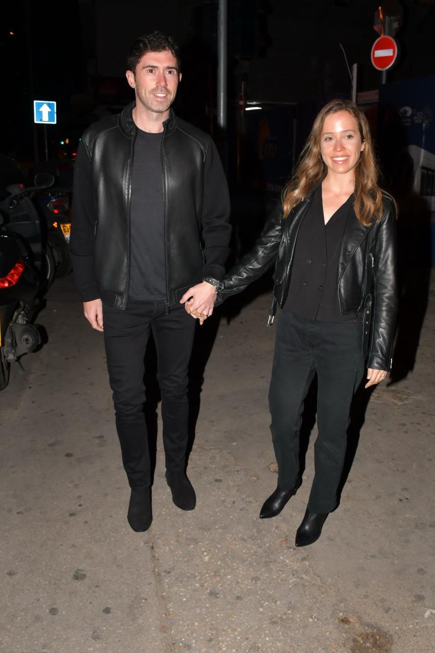 עמליה דואק ובעלה