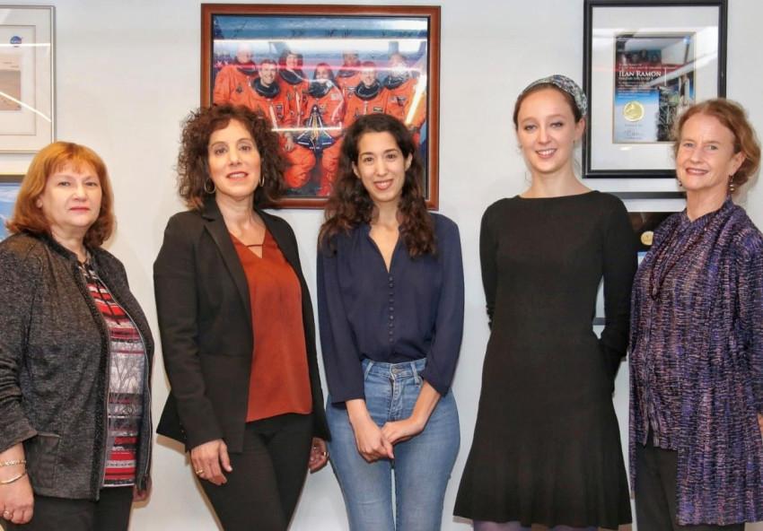 שרה בק, מעיין סוסניק נועה יחזקאל , ענבל קרייס ודיאנה לאופר (צילום: BE ALL ניר לנגר)