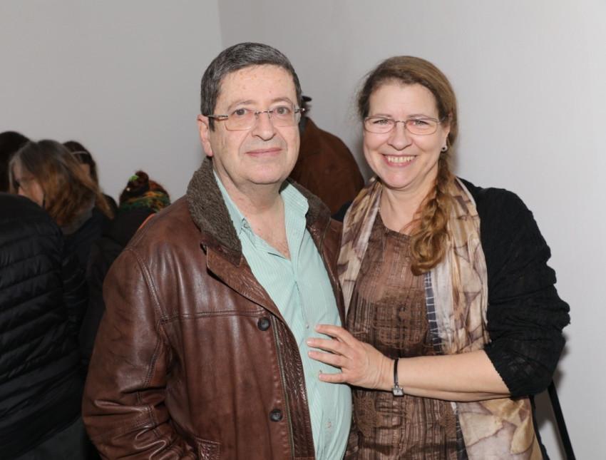 דוריס ומורי ארקין (צילום: רפי דלויה)