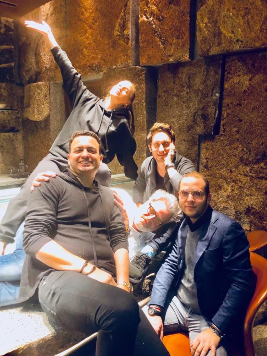רותם רוזן, ליאור סושרד, אייל שני , ניבר מדר וצחי חג'ג' (צילום: מתוך אינסטגרם)