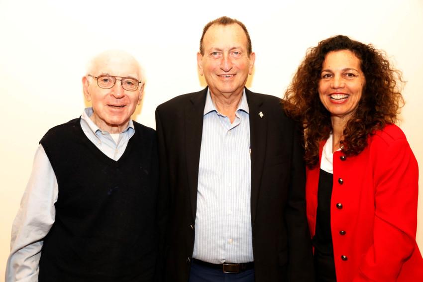 הילה אורן, רון חולדאי וג'וש ווסטון (צילום: יעל צור)