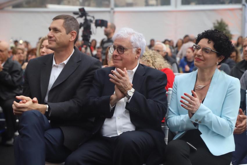 עינת גנון, רמי נוסבאום וארנון פרידמן  (צילום: איתי כהן, ״אלבטרוס״)