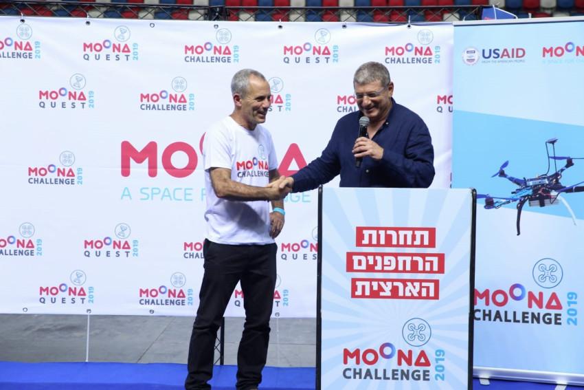 אליעזר שקדי ואסף ברימר (צילום: מיקה גורביץ', rimon2)