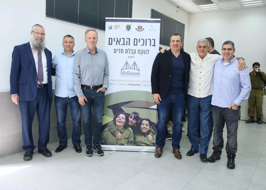 אמיר פרשר, גבי אופיר, איל וולדמן, מיכאל כגן, נמרוד גינדי ומנדי בליניצקי (צילום: רבקה זנד)