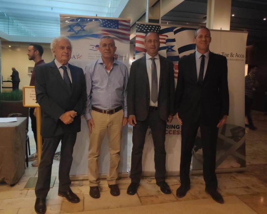 עודד רז, יניב גרטי, עמוס ארבל וצבי קן תור (צילום: יובל מור)