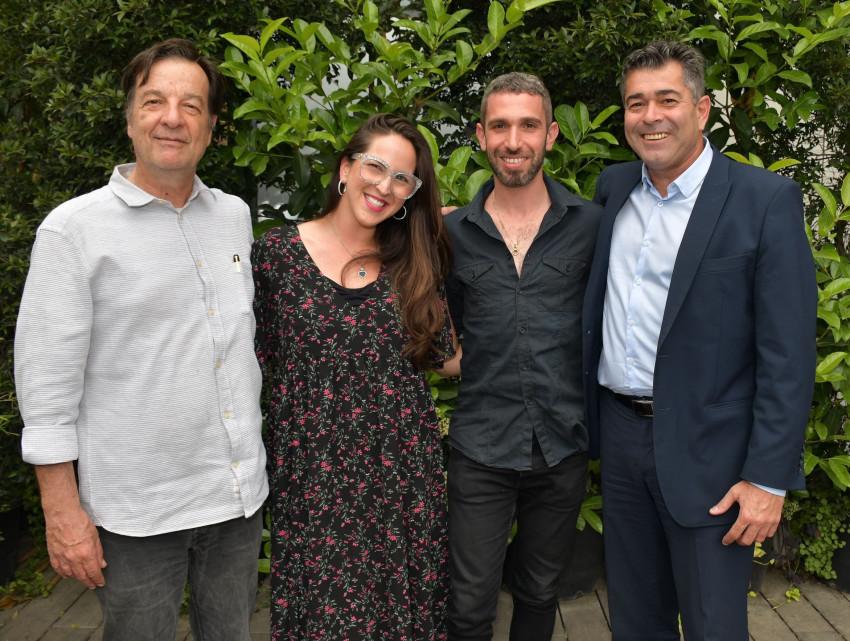 שמעון קיפניס , שלומי שבן, אליאור אלשטיין ונועם בן זאב (צילום: אביב חופי)