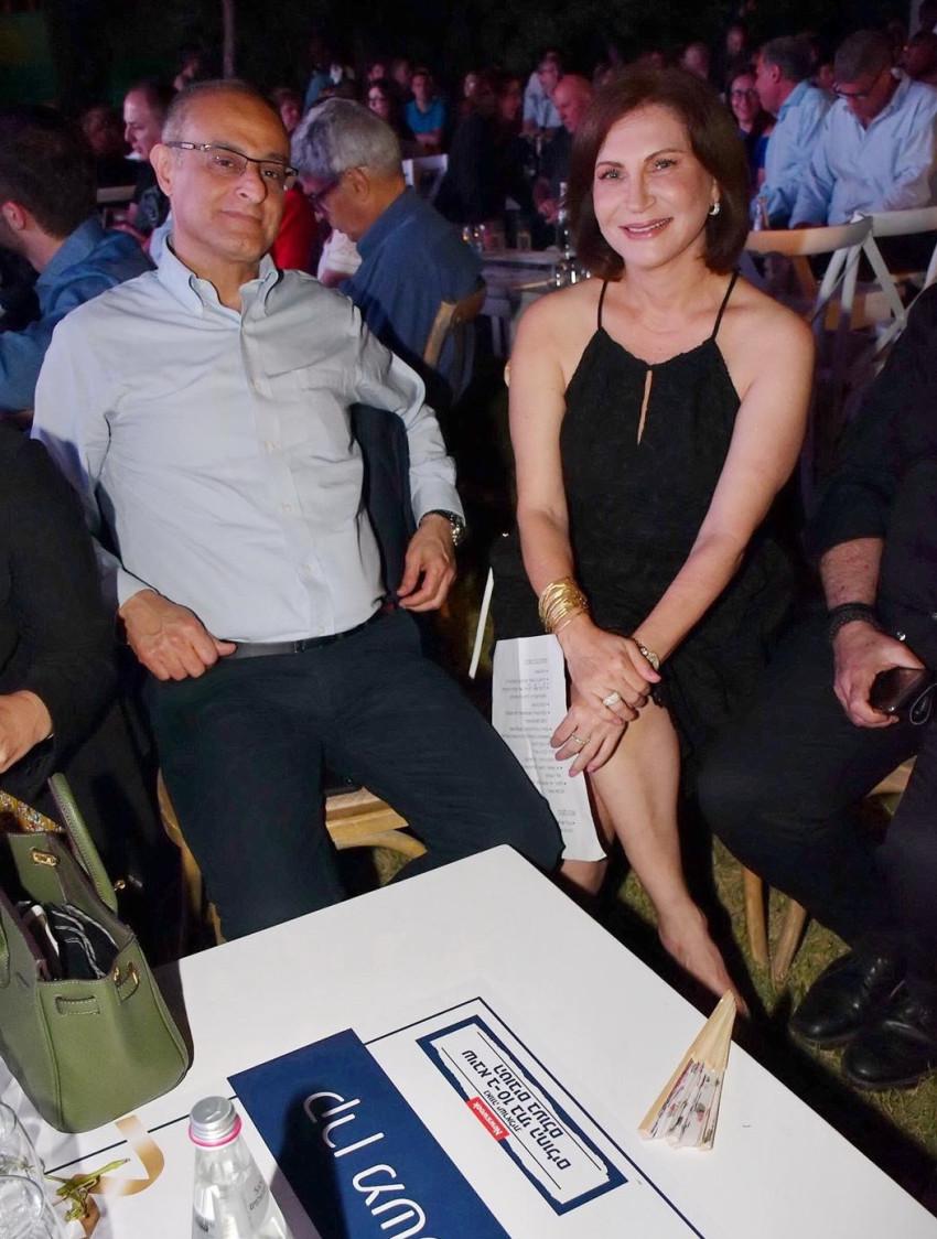 יעל אלמוג ודוד מימון (צילום: רפי דלויה)