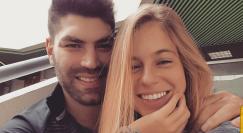 אורי ששון ובת הזוג מיתר