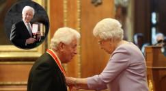 מלכת אנגליה וסר פרנק לואי