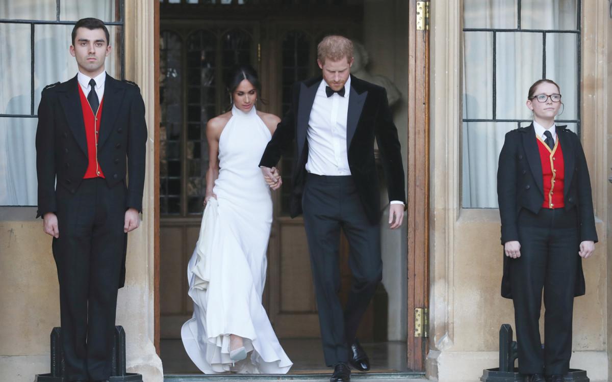 הארי ומייגן לאחר החתונה