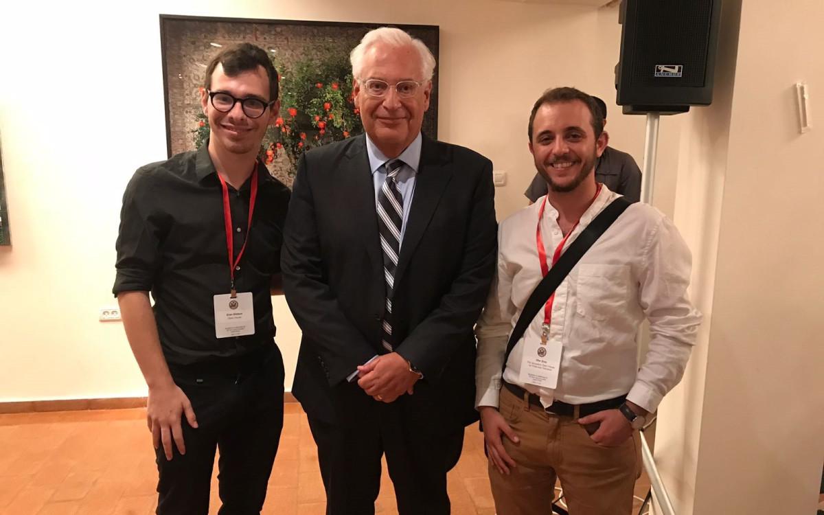 עופר ארז, דיויד פרידמן וערן גלובוס