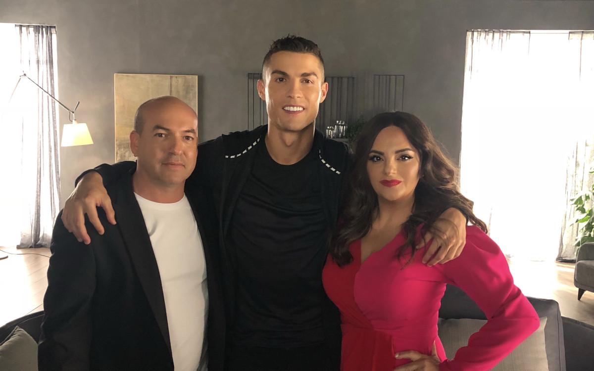 אופירה וברקו <br />פגשו את הכדורגלן<br />כריסטיאנו רונאלדו
