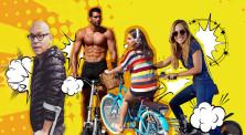 אופניים, אילוסטרציה